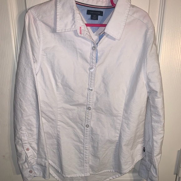 Tommy Hilfiger Other - Girls Tommy Hilfiger Button Down Top Size s/p 7